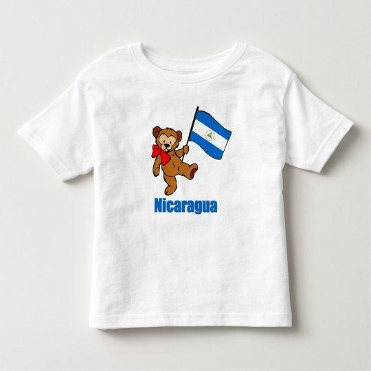 Nicaragua Teddy Bear T-shirts