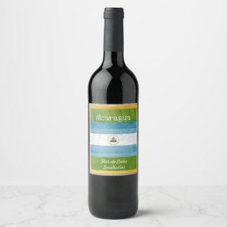 Nicaragua Wine Label