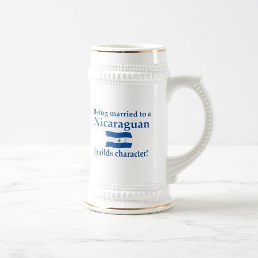 Nicaraguan Builds Character Mug