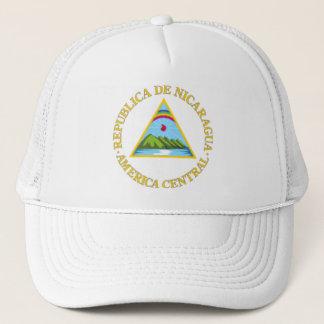 Nicaraguan coat of arms trucker hat