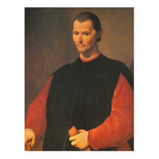 Niccolò Machiavelli Postcard