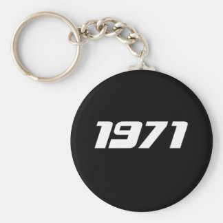 Nice 1971 Print Keychain