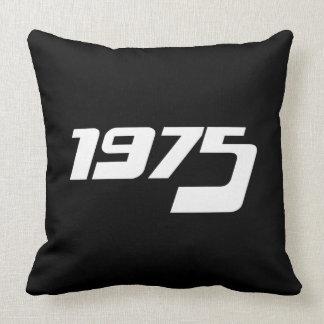 Nice 1975 Print Throw Pillow