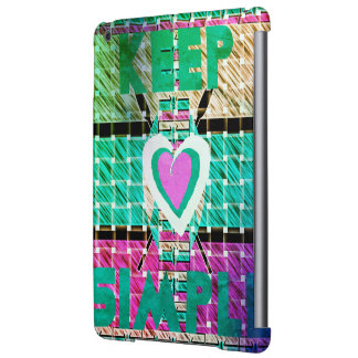 Nice and Lovely Keep it simple iPad Air Cover