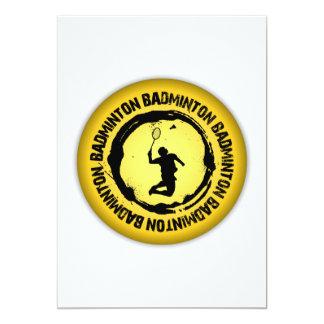 Nice Badminton Seal Card