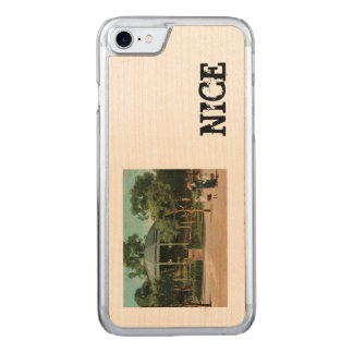 Nice Bandstand 1908 Carved iPhone 8/7 Case