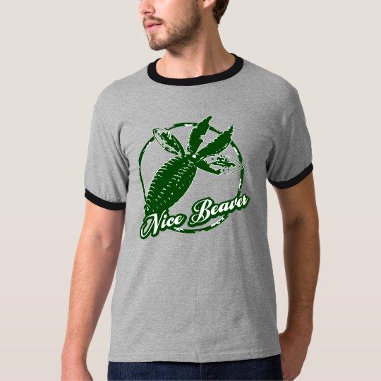 Nice Beaver Tshirt