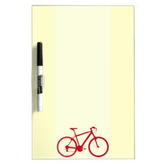 nice bicycle . biking . bike-themed dry erase boards