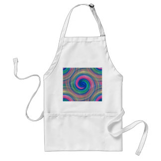 Nice candy swirl pattern with pink and purple standard apron