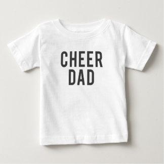 Nice Cheer Dad Print Baby T-Shirt