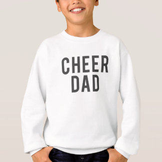 Nice Cheer Dad Print Sweatshirt