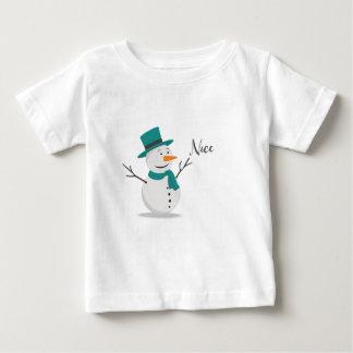 Nice Christmas Shirt - Snowman