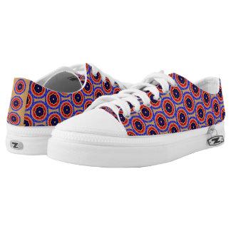 Nice circle pattern Low-Top sneakers