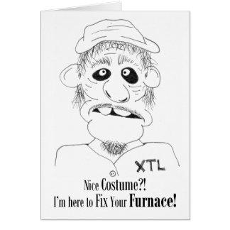 Nice Costume?! - Halloween Card