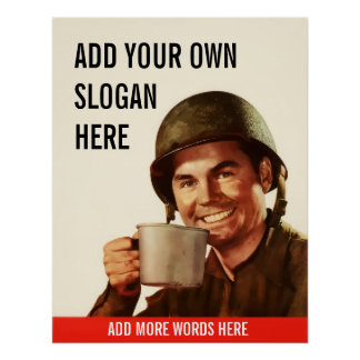 Nice Cup of Tea Personalized Vintage Poster