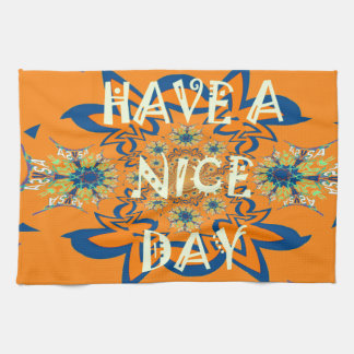 Nice day Beautiful baby dark pink floral  shade a Hand Towel