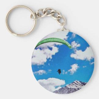 Nice day to para glide keychain