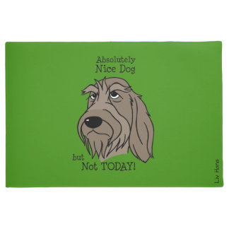 Nice dog - emergency but today Spinone Doormat