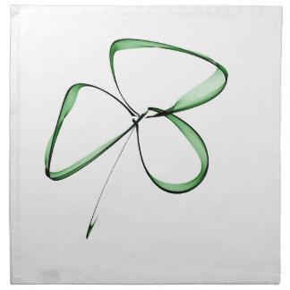 nice drawing small clover napkin