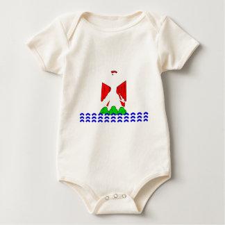 nice-Flag Baby Bodysuit