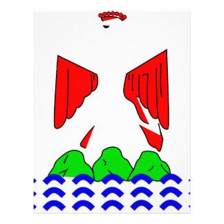 nice-Flag Letterhead