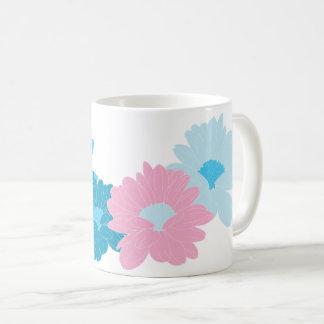 Nice flowers illustration coffee mug