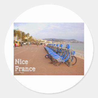 Nice France #1 Classic Round Sticker