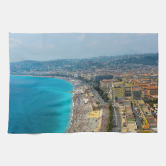 Nice France located in the French Riviera Kitchen Towel