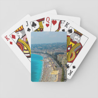 Nice France located in the French Riviera Poker Deck