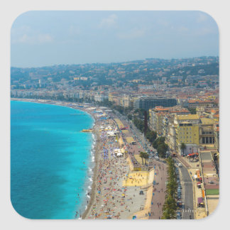 Nice France located in the French Riviera Square Sticker