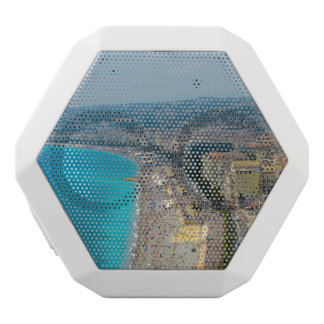 Nice France located in the French Riviera White Bluetooth Speaker