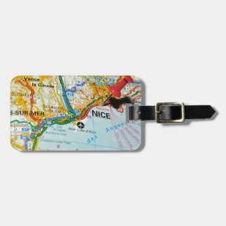 Nice, French Riviera, France Luggage Tag