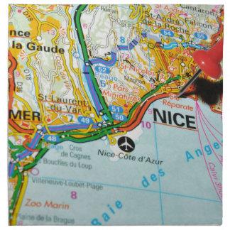 Nice, French Riviera, France Napkin