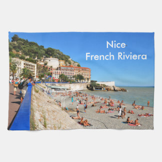 Nice. French Riviera Kitchen Towel