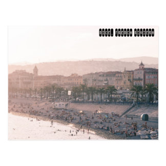 Nice, French Riviera Postcard