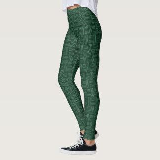 Nice Green White Animal Pattern#54c Legging Pants