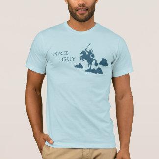 Nice Guy in Shining Armor (Navy) T-Shirt