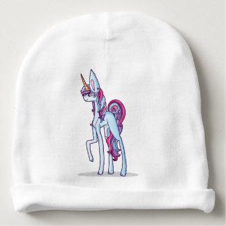 Nice hand-drawn unicorn baby beanie
