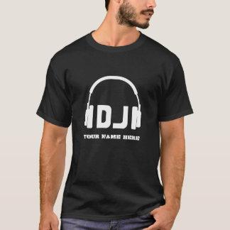 Nice headphone dj icon name shirt