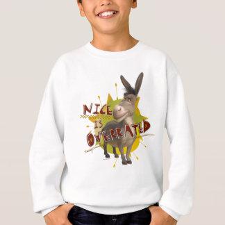 Nice Is Overrated Sweatshirt