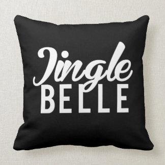 Nice Jingle Belle Print Throw Pillow