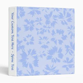 Nice light blue floral pattern. vinyl binders