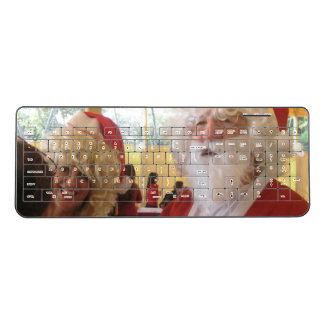 Nice Lovely cute Merry Christmas holidays ideas Wireless Keyboard