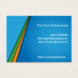Nice modern business card