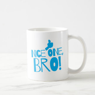 Nice one Bro! Kiwi New Zealand funny Coffee Mug