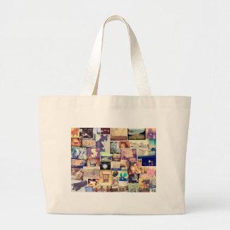 Nice Photo Filter Fun Collage Jumbo Tote Bag