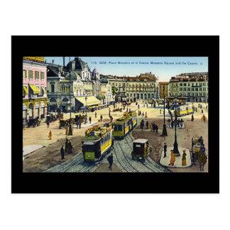 Nice, Place Massena et le Casino Postcard