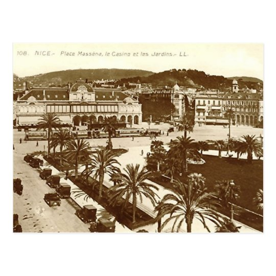 Nice, Place Massena Postcard