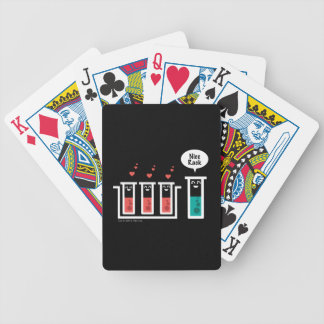 Nice Rack Bicycle Playing Cards