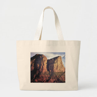 nice rock monument large tote bag
